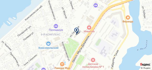 Татметиз, ООО на карте