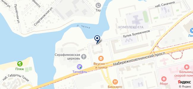 Связьстроймаркет, ООО на карте