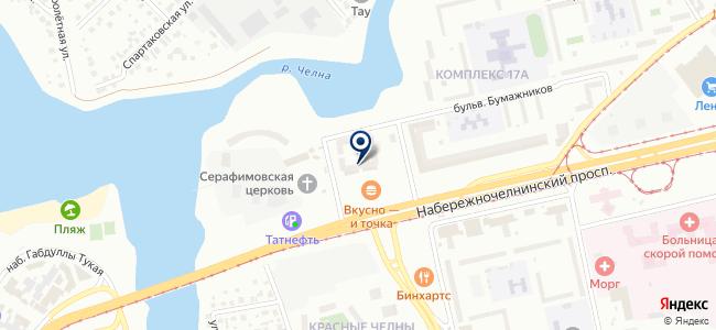 ОСК, ООО на карте