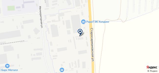 Аврора-Строй на карте
