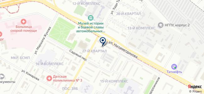 Центр электронной отчетности, ООО на карте