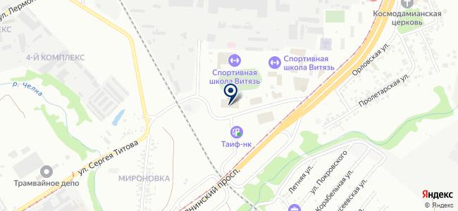 КамСвет на карте