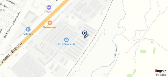 Блик, ООО на карте