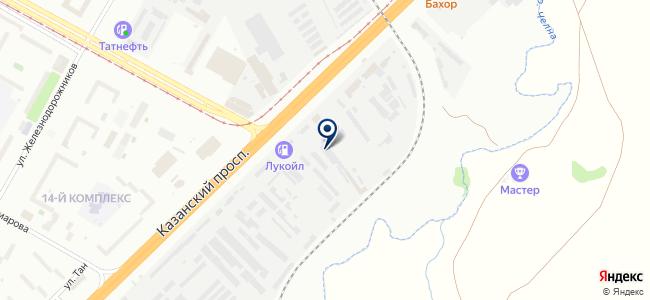 КамСтройЛес на карте