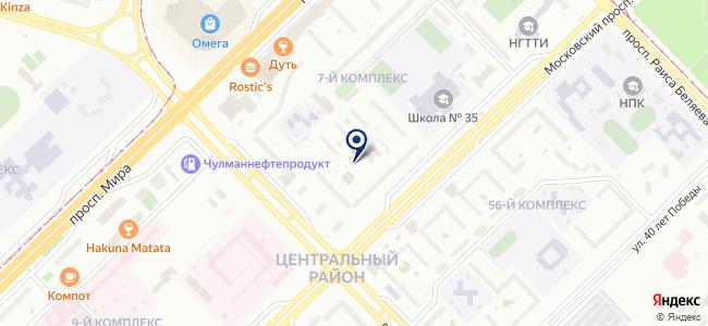 ЮМО-РТ, ООО на карте