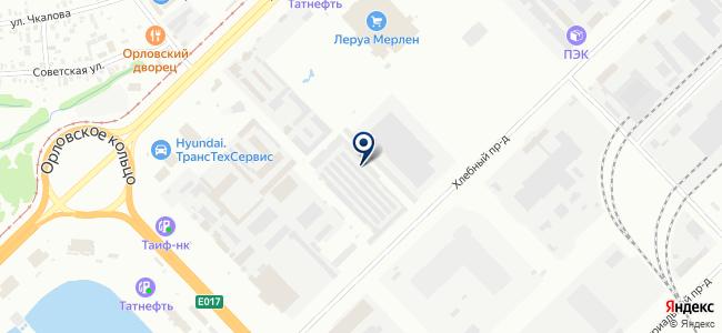 ТрансКомЧелны на карте