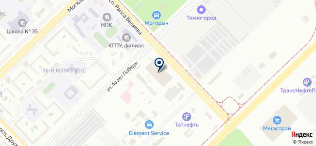 Уралэнерго, ООО, торговая компания на карте