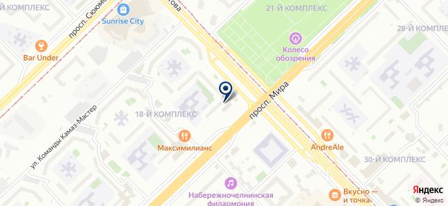 Центр Уникальных Товаров-Казань на карте