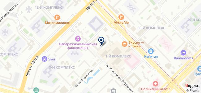 Искандер+, ООО на карте