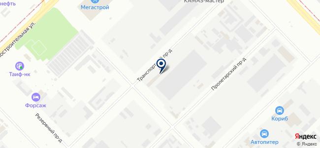 ПАК-Инвест, ЗАО на карте