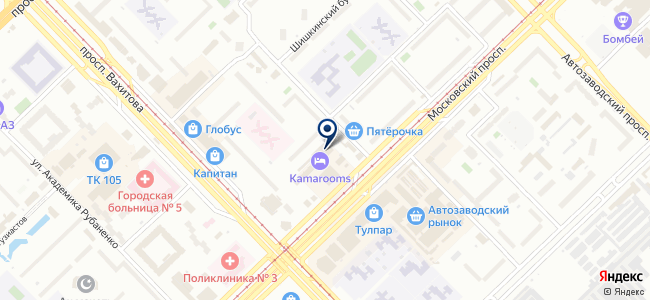Регионэнергомонтаж, ООО на карте