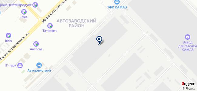ДаГаз, ЗАО на карте
