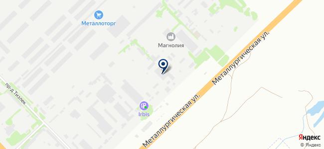 Транзит-К на карте