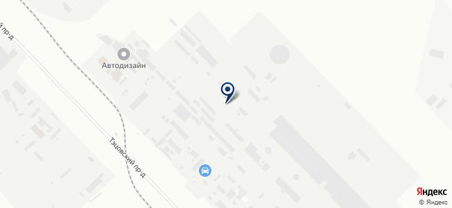 ИНВЭНТ-Технострой на карте