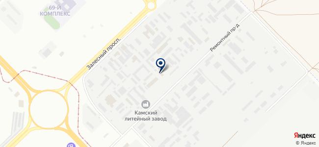 КамЭнерго, ООО на карте