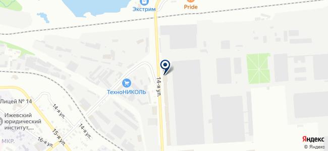 МДМ-Техно на карте