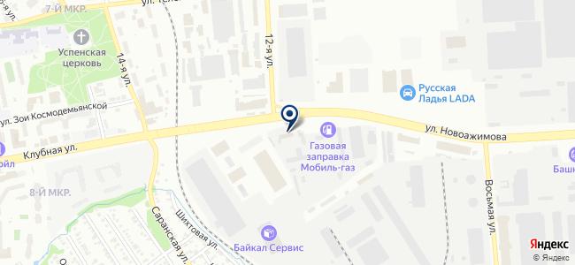 Астор, ООО на карте