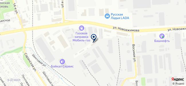 Оранжевый автобус, ООО на карте
