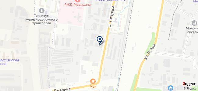 Тепломаг на карте