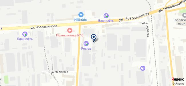 Иж-Тандем, ООО на карте