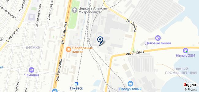 Барьер-Удмуртия на карте