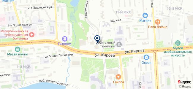 Стройсупермаркет на карте