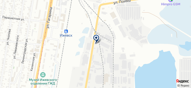 Агат, ООО на карте