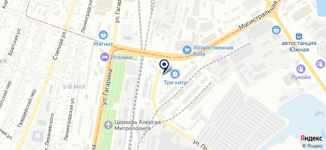 Теплоторг на карте