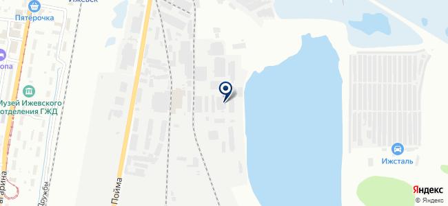 ПромРезерв на карте
