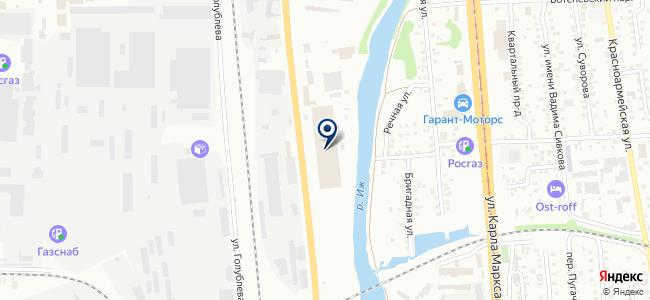 Уралэнерго на карте