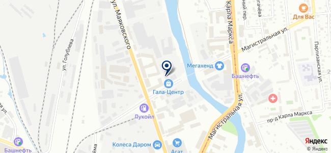 Гала-Центр на карте