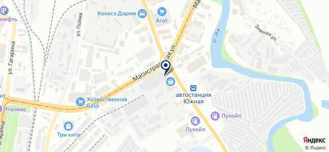 Север-Инструмент на карте