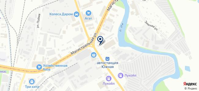 Электроша на карте