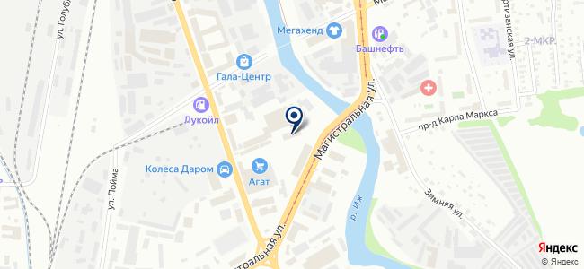 Мурафей на карте
