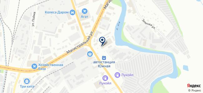 СК-холдинг на карте