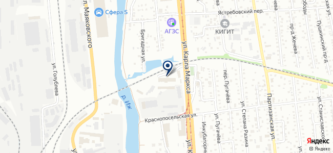 Союзприбор, ООО на карте