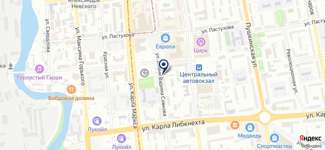 Уралэлектромонтаж на карте