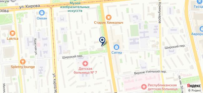Бюро, ООО на карте