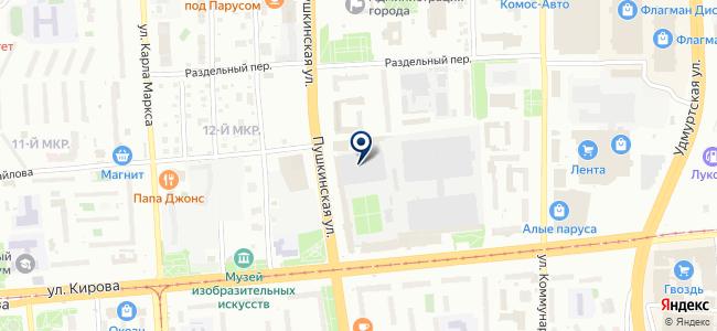 Бриз, ООО на карте