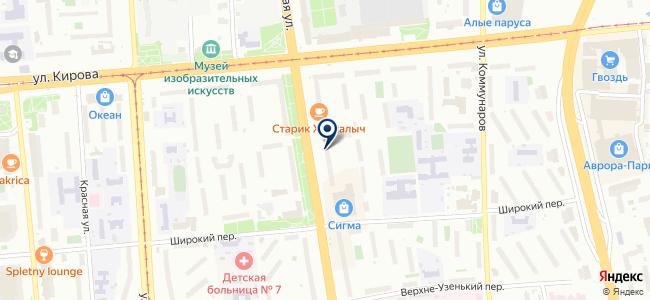 Нк Сервис, ООО на карте