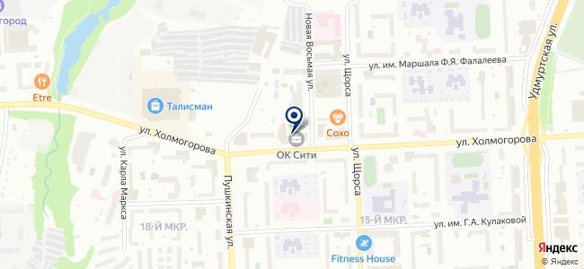 Lusterra на карте