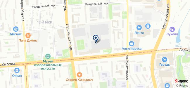 Радио-сервис, ЗАО на карте
