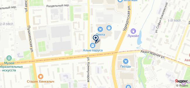 СКС-Сервис, ООО на карте