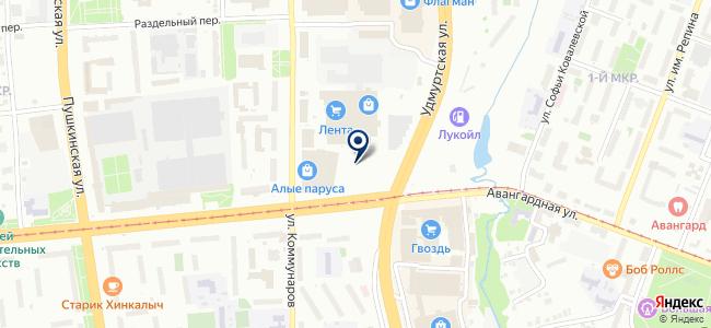 Занами, ООО на карте