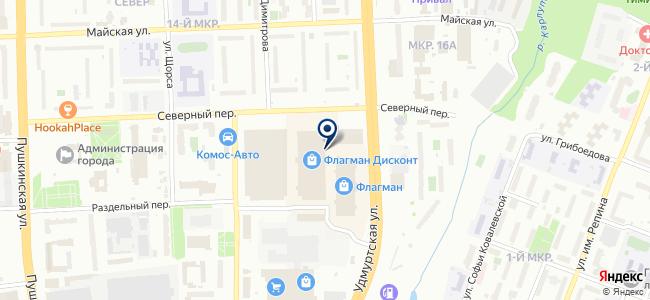 Винтик и Шпунтик на карте