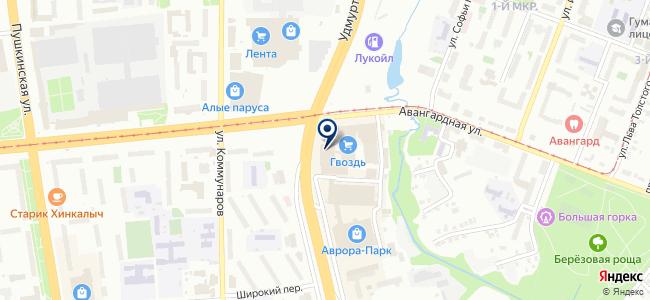 RaZoom на карте