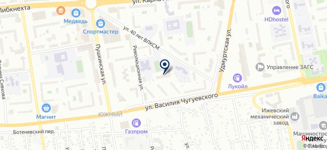 ЕрмакГаз, ООО на карте