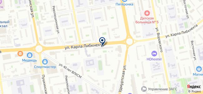 Дока на карте