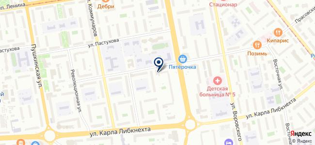 Ижгео на карте