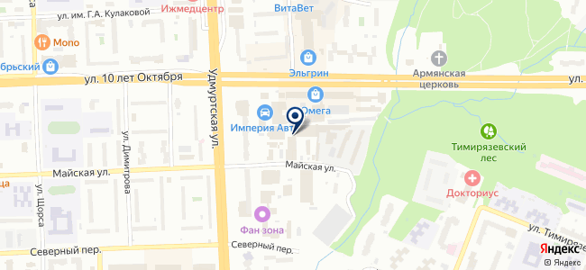 КамЭнерго на карте